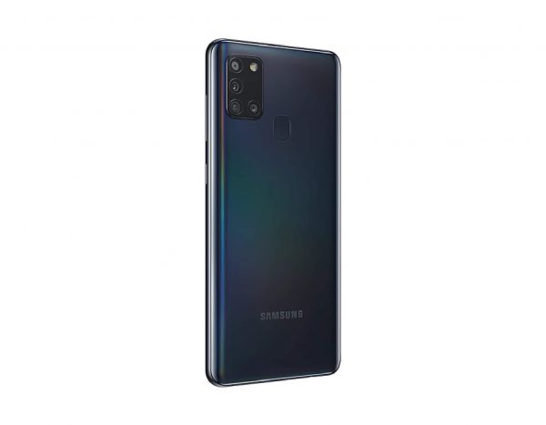 Samsung Galaxy A21S Reverso Lateral Negro