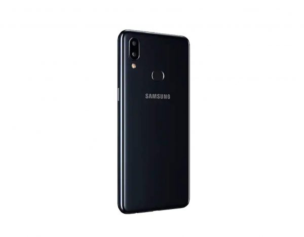 Samsung Galaxy A10S Reverso Lateral Negro